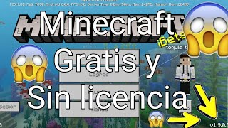 Como quitar la licencia de minecraft pe sin lucky patcher  2018