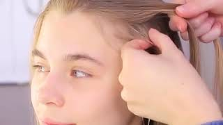 Cute Hairstyle Ideas for Girls / Christmas Hairstyle Ideas #Christmas #Hairstyles #HairstyleIdeas