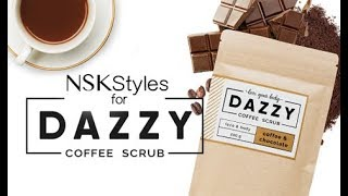 Getting the Dazzy treatment with their MUST HAVE Coffee scrubs, PLUS 15% off! thumbnail