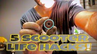 5 SICK SIMPLE DIY SCOOTER LIFE HACKS