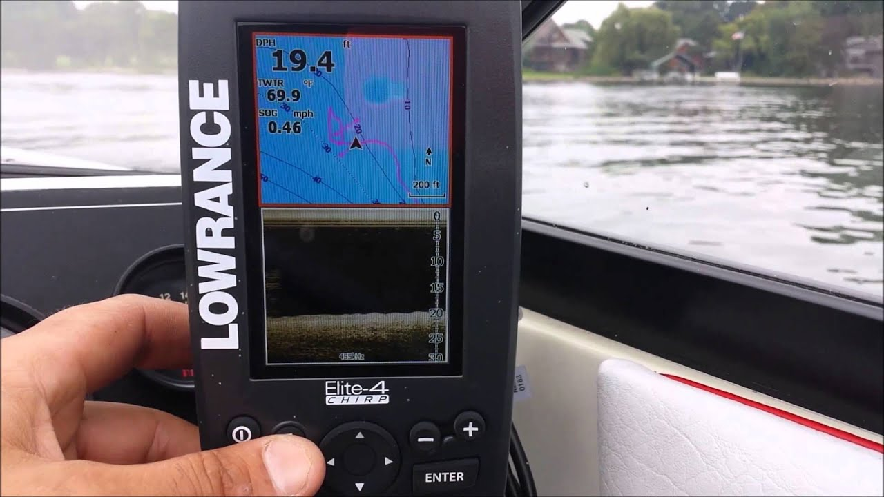 Lowrance Elite-4x CHIRP
