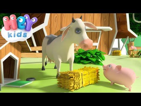 La Mucca Lola - Canzoni per Bambini con Animali