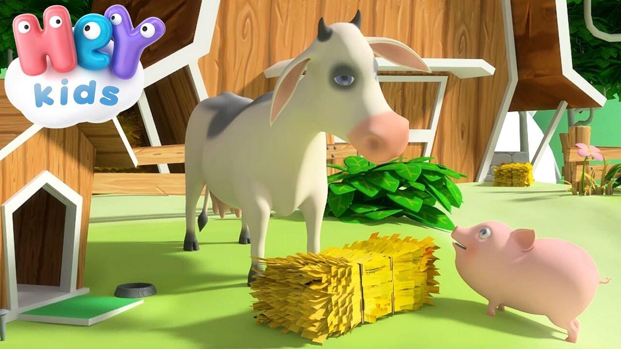 La mucca lola canzoni per bambini con animali youtube
