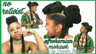 afrohemian mohawk-inspired by Janelle Monae