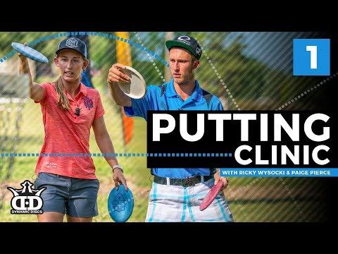 Ricky Wysocki & Paige Pierce Putting Clinic Pt 1