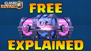 How To Get FREE Clash Royale & SUPER MAGICAL CHESTS | Chest Drop Pattern Explained NOT RANDOM!