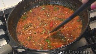 """"""" Fijian Indian Tomato Chutney """" Bajias Cooking"""