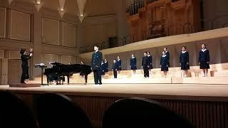 姫路市立広嶺中学校コーラス部20190120(姫南コーラス部定演Voi.23賛助出演)