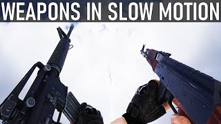 TO4 Tactical Operations - Weapon Reload Animations In Slow Motion