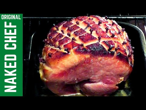 Christmas Roast Gammon How To Cook Recipe With Honey Mustard Cloves