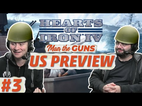 Hearts of Iron 4 | Man the Guns | US Focus Tree | Part 3
