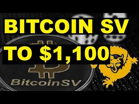 Bitcoin SV To $1,100 (Super Profitable Pattern)