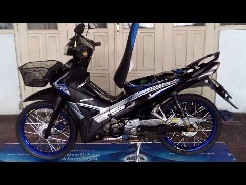 Modifikasi Simple Wave 110i Basic Honda Revo Fit 2013 Reza Channel Iseng Iseng Youtube