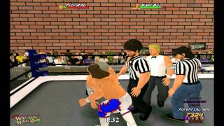 Wrestling MPire Gameplay and Commentary