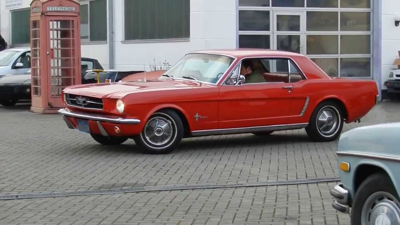 1964 1 2 ford mustang coupe 289 cui v8 automatik mit scheibenbremse video i youtube. Black Bedroom Furniture Sets. Home Design Ideas