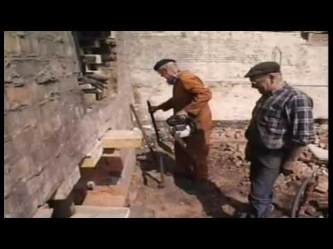 Fred Dibnah chimney felling/demolition collection.