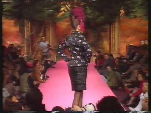 Christian Lacroix Haute Couture Automne-Hiver 1991
