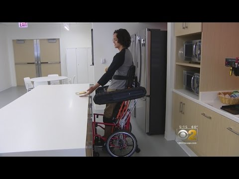 New Wheelchair In The Works Allows Users To Sit Or Stand
