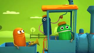 """Working on the Railroad"" Classic Songs by StoryBots"