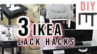 IKEA Hack | Lack Table Transformation | 3 Best Ikea Hacks DIY  « Decor DIY Easy « DIY Room