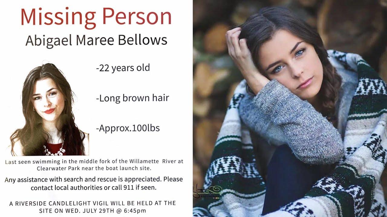 #BringAbigaelHome - MISSING PERSON in Willamette River