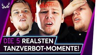 Die 5 REALSTEN Tanzverbot-Momente! | TOP 5