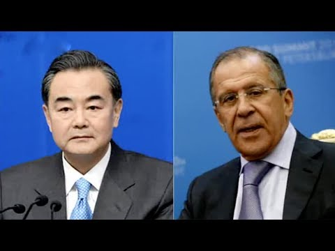 China's foreign, defense ministers in Moscow