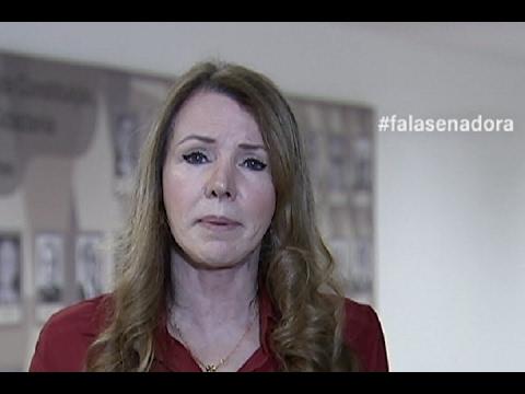#falasenadora: Vanessa Grazziotin cobra votação de penas mais duras contra o estupro