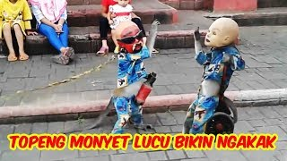 Video topeng monyet lucu TERBARU, Jakarta Monkey Tour download MP3, 3GP, MP4, WEBM, AVI, FLV November 2018