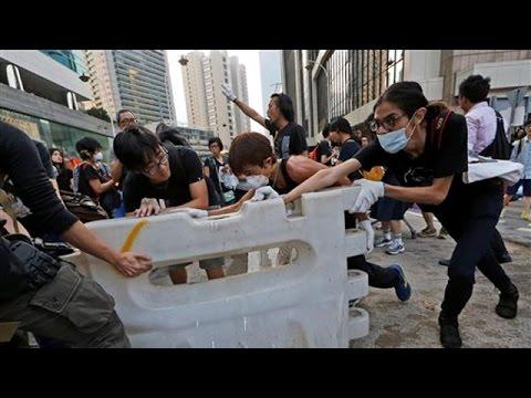 China blames US for Hong Kong protests
