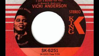 VICKI ANDERSON  Answer to Mother Popcorn  70s Soul Classic