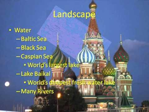 14 1 & 14 2 Russia's Landscape & History