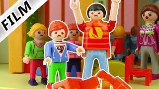 Playmobil Film Deutsch - KIND ZU GROß? SCHLÄGERTYP IN DER KITA! JULIAN HAT ANGST! Familie Vogel
