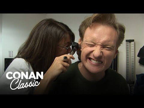 "Conan Goes To The Doctor - ""Late Night With Conan O&39;Brien"""