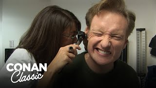 "Conan Goes To The Doctor - ""Late Night With Conan O'Brien"""