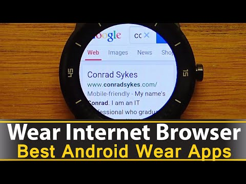 Wear Internet Browser - Best Android Wear Apps Series
