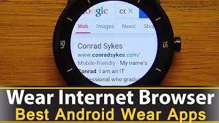 Wear Internet Browser - Best Android Wear Apps Series