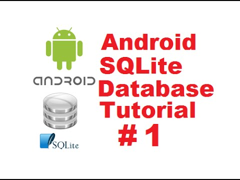 Android SQLite Database Tutorial 1  Introduction