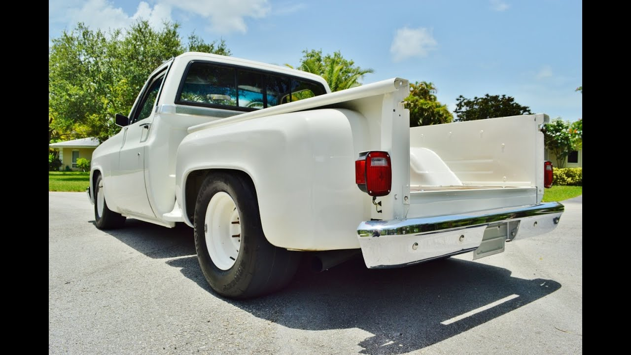 All Chevy 1980 chevy stepside : 1987 CHEVY C10 SIERRA CLASSIC STEPSIDE V8 SHORT AND WIDE SUPER ...