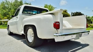 1987 CHEVY C10 SIERRA CLASSIC STEPSIDE V8 SHORT AND WIDE SUPER FAST!!! 305-988-3092