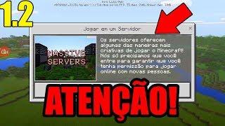 COMO JOGAR EM SERVIDOR AGORA NO MINECRAFT POCKET EDITION 1.2 (CRIAR CONTA XBOX LIVE)