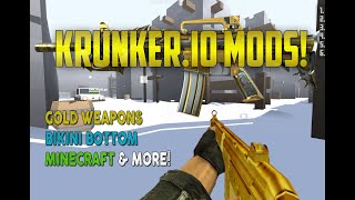 Krunker.io Mods Bots Minecraft, Gold Weapons, Bikini Bottom Like CS Hacks,Cheats