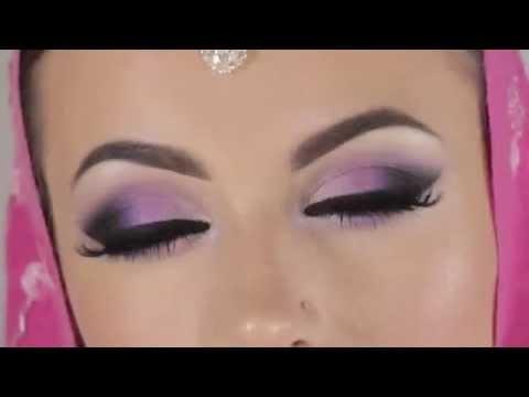 Свадебный макияж в нежно-розовом