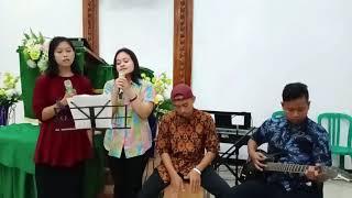 Kunyanyi Haleluya (cover) Pujian Pemuda Cangkring || GKJW