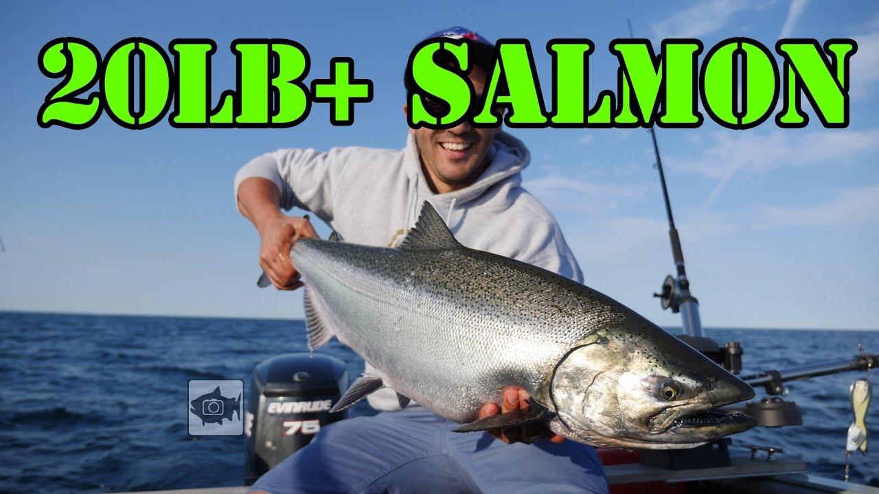 Lake ontario salmon fishing youtube for Lake ontario salmon fishing report