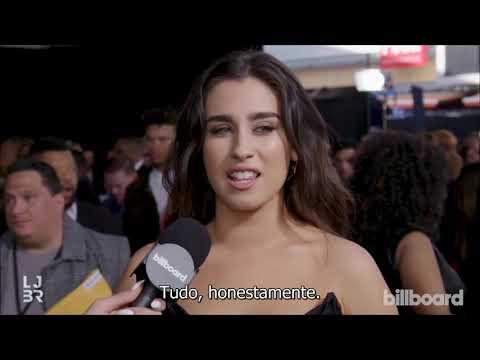 Lauren conversa com a Billboard no tapete vermelho do AMAs 2018 legendado