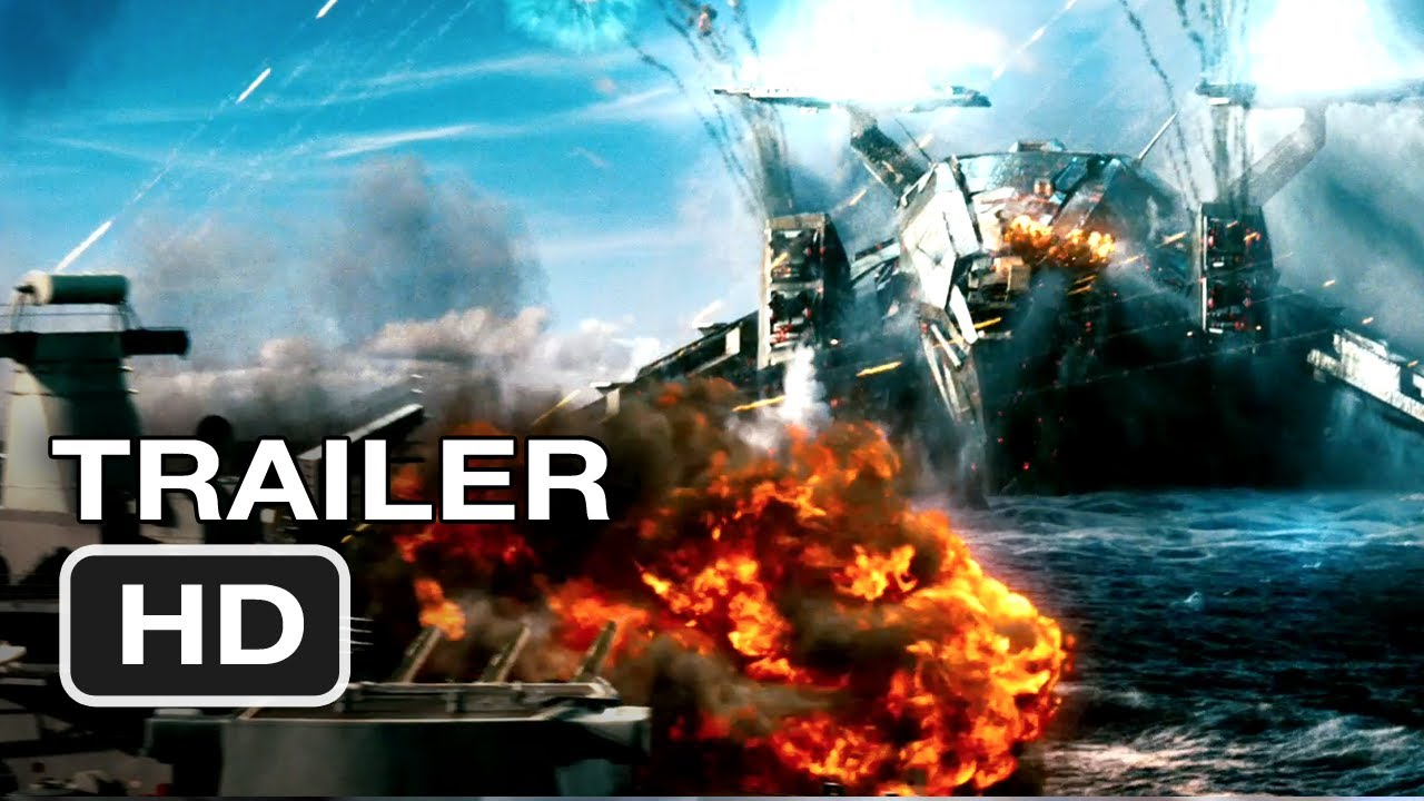 Trailer - Battleship Official Trailer #2 - Rihanna Movie (2012) HD ...