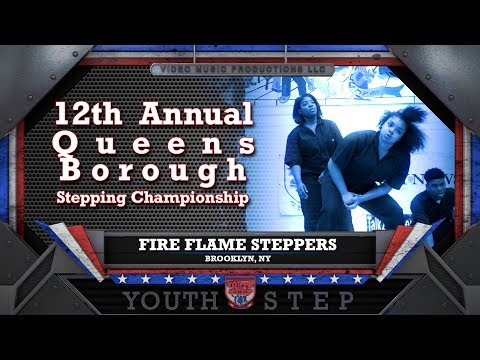 FIRE FLAME STEPPERS - 12th Annual Youth Step USA Queens Borough Championship