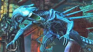 Alien Vs. Predator: Evolution (iOS) - Alien Bonus Level - Overpowered (Alien Queen)