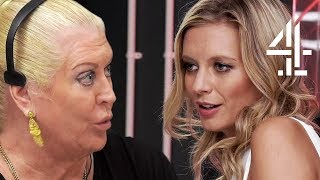 Rachel Riley & Kim Woodburn Disagree About Dating | Celebrity Call Centre